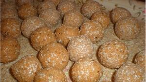 Susamlı patates topları