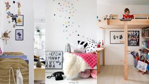 Birbirinden tatlı 17 çocuk odası dekorasyonu