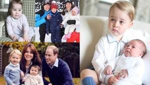 En güzel fotoğraflarıyla Prenses Charlotteun ilk yılı