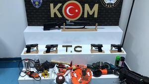 Adana'da silah kaçakçılarına operasyonuna 1 tutuklama