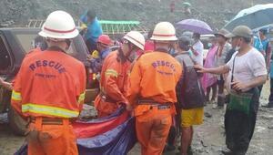 Son dakika Myanmarda madende kaza, çok sayıda ölü var
