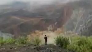 Myanmarda yeşim taşı çıkarılan bir madende meydana gelen toprak kaymasında 113 madenci öldü