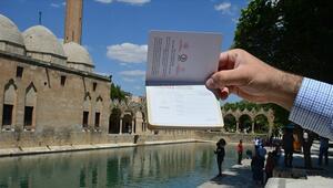 Şanlıurfayı ziyaret edenlere özel pasaport uygulaması