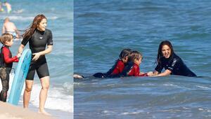 Shakira çocukları büyüttü