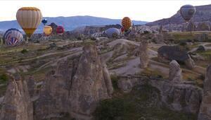 Kapadokyada sıcak hava balon turları 1 Ekime kadar yapılamayacak