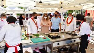 Narlıderede yerel lezzetler yarıştı