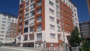 Konya Seydişehirde 1 apartman, karantinaya alındı