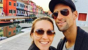 Novak Djokovic ve eşinden sevindiren haber Son koronavirüs testleri negatif...
