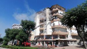 Manavgatta ev yangını