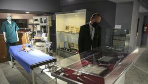 Temalı bölümlerle tıp müzesi açıldı