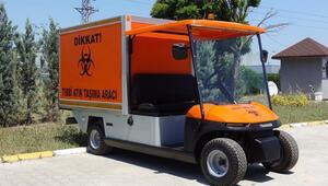Elektrikli araçlar tıbbi atıkları toplayacak