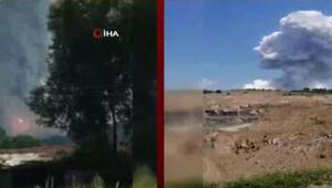 Hava fişek fabrikası patlamasının ardından yayılan gaz zehirli mi Kızıl Başkanından son dakika uyarısı