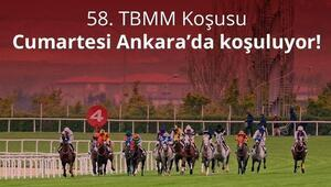 At yarışlarında 58. TBMM Kupası Koşusu Ankarada yapılacak
