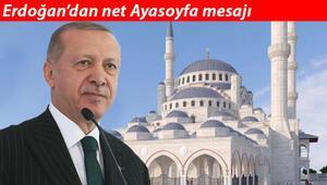 Cumhurbaşkanı Erdoğan: Ayasofya ithamları egemenlik haklarımıza saldırı amacı taşıyor
