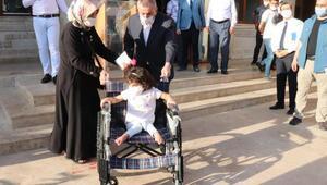 Midyat Belediyesinden engellilere tekerlekli sandalye