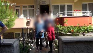 Kocasının döverek eve kilitlediği kadını polis kurtardı