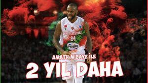 Pınar Karşıyaka, Amath MBaye ile yeni sözleşme imzaladı