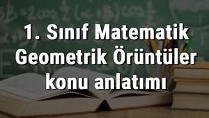 1. Sınıf Matematik Geometrik Örüntüler konu anlatımı