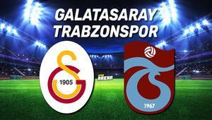 Galatasaray Trabzonspor maçı saat kaçta ve hangi kanalda canlı izlenecek Maç öncesi son dakika gelişmeler