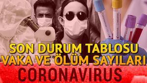 5 Temmuz Corona Virüs Türkiye tablosunda son durum: Türkiye ve dünyada koronavirüs vaka ve ölüm sayısı Covid 19 haritası