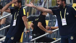 Fenerbahçe yardımcı antrenörü Volkan Demirel, Göztepe maçında çılgına döndü