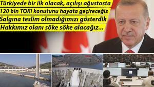 Son dakika... Cumhurbaşkanı Erdoğan: Salgına teslim olmadığımızı gösterdik