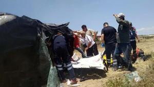Burdurda trafik kazası: 1i ağır, 3 yaralı