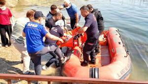 Baraj gölünde kaybolan genç,tüm müdahalelere rağmen kurtarılamadı