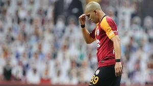 Son Dakika | Galatasaray-Trabzonspor maçında Feghouli kırmızı kart gördü