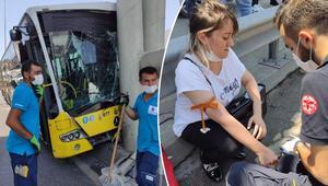 Beylikdüzünde feci kaza: 19 kişi yaralandı...