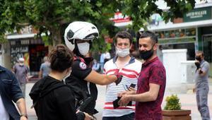 Boluda son 11 günde 458 kişiye maske cezası