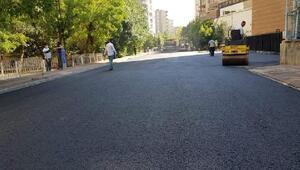 Bağcılar Mahallesinde asfalt çalışması sürüyor