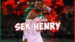 Pınar Karşıyaka eski oyuncusu Sek Henry'yi transfer etti