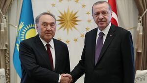 Son dakika haberi... Cumhurbaşkanı Erdoğan, Nazarbayev ile görüştü