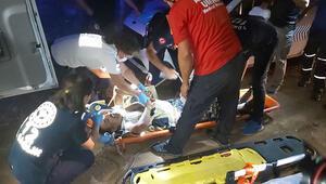 Antalyada mağarada mahsur kalan kişiler kurtarıldı