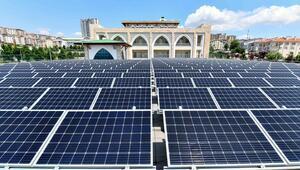 Yaşam merkezine güneş paneli