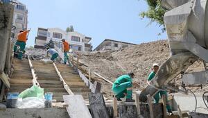Malazgirt'e merdivenli yol