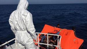 Türk kara sularına geri itilen çok sayıda sığınmacı kurtarıldı