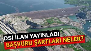 Devlet Su İşleri 73 işçi alımı yapacak İŞKUR DSİ personel alımı başvuru şartları