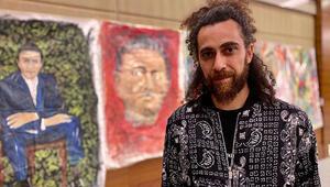 3Kaydan futbolcu, teknik adam ve başkanlara özel yağlı boya tablolar