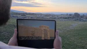 Hattuşanın 3 bin 500 yıl önceki hali sanal gerçeklik uygulamasıyla ziyarete açıldı