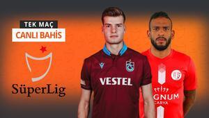Trabzonsporun rakibi Antalyasporda tam 9 eksik Bordo-mavili takımın iddaa oranı...