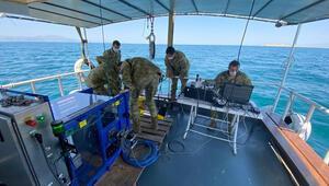 MSB: Van Gölünde uzaktan kumandalı su altı arama cihazlarıyla çalışma başladı