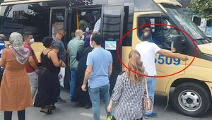 İstanbulda minibüs manzarası değişmiyor