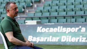 Tahir Büyükakın: İnşallah Kocaelispor'u Süper Lig'de göreceğiz