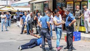 Antalyada aranan şüpheli, 2 polisi bıçakla yaraladı