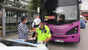 Toplu taşıma araçlarında maske takmayanlar hakkında tutanak tutuldu