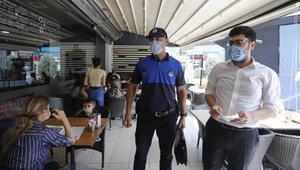 Ankarada maske denetimi