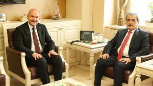 Bakan Süleyman Soylu, Yargıtay Cumhuriyet Başsavcısı Bekir Şahini ziyaret etti