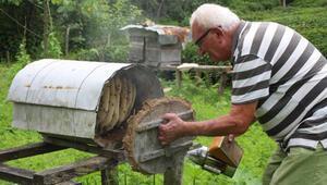 Karadenizde karakovan bal üretimi geleneği sürüyor